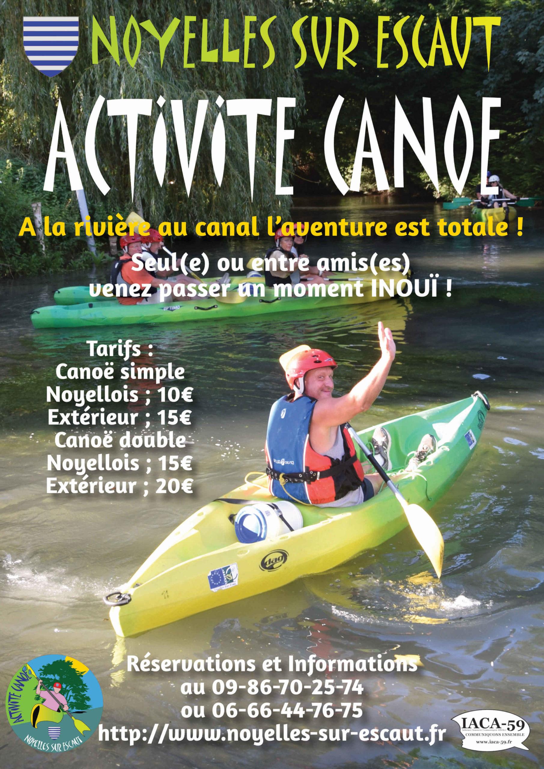 Activité-Canoë